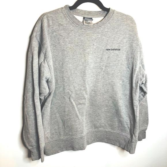 3e800cfa84fc7 Vintage New Balance Gray Crewneck Sweatshirt